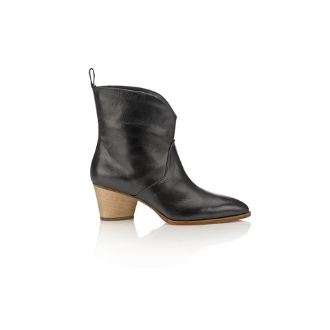 Spring Bulb Bootie Black
