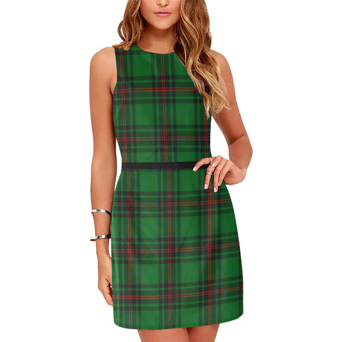 Anstruther Tartan Sleeveless Dress H01
