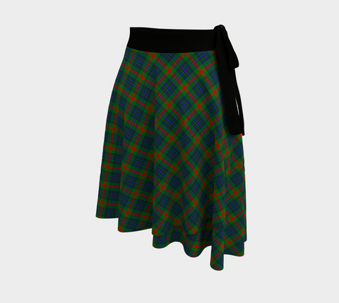 Image of Aiton Tartan Wrap Skirt