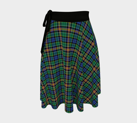 Allison Tartan Wrap Skirt