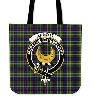 Arnott Clan Badge Tartan Tote Bag