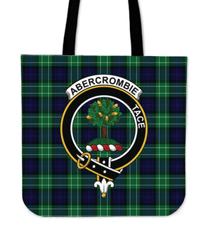 Abercrombie Clan Badge Tartan Tote Bag