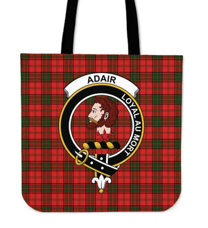 Adair Clan Badge Tartan Tote Bag