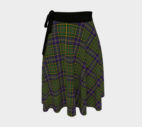 Image of MacMillan Hunting Modern Tartan Wrap Skirt