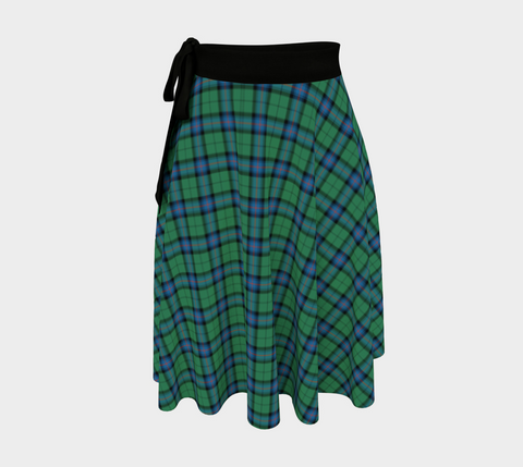Image of Armstrong Ancient Tartan Wrap Skirt