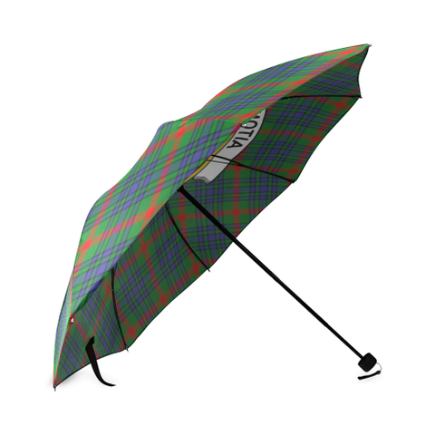 Aiton  Clan Badge Tartan Umbrella