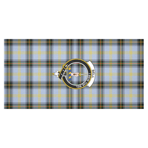 Bell Of The Borders  Clan Badge Tartan TableCloths