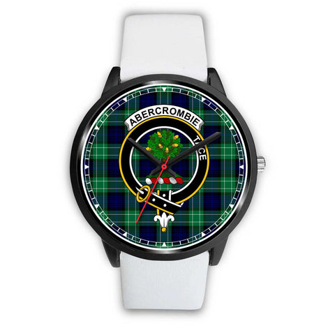 Abercrombie Clan Badge Tartan Watch