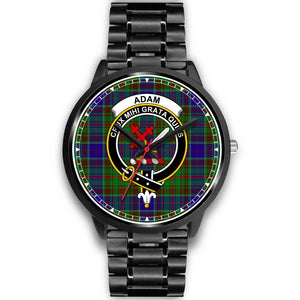 Adam Clan Badge Tartan Watch