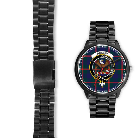 Agnew Clan Badge Tartan Watch