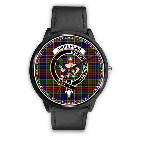 Aikenhead Clan Badge Tartan Watch