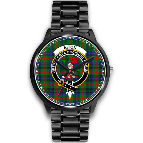 Aiton Clan Badge Tartan Watch