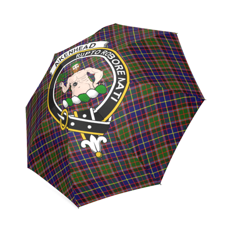 Aikenhead  Clan Badge Tartan Umbrella