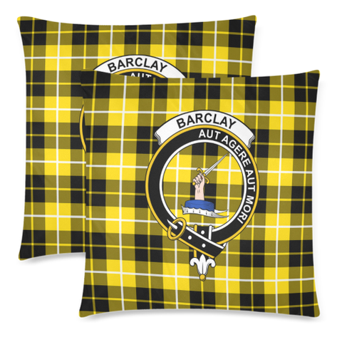 Barclay Dress Clan Badge Tartan Pillow Cover
