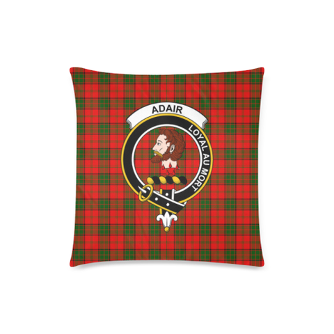 Image of Adair  Clan Badge Tartan Pillow Cover