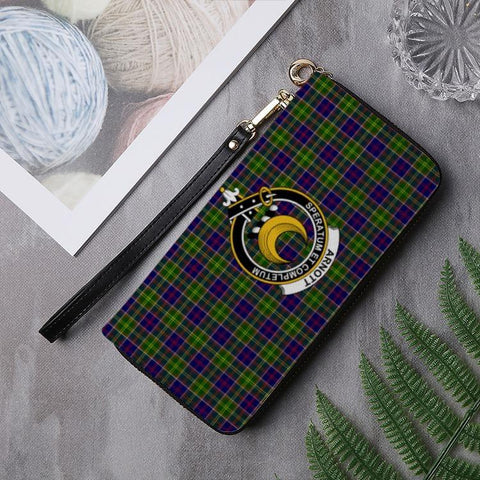 Arnott Clan Badge Tartan Zipper Wallet