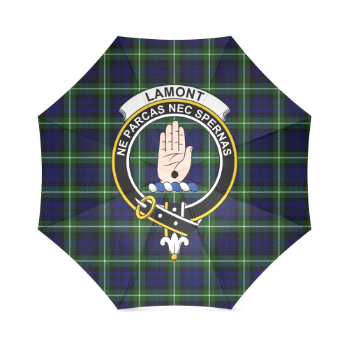 Lamont Clan Badge Tartan Umbrella