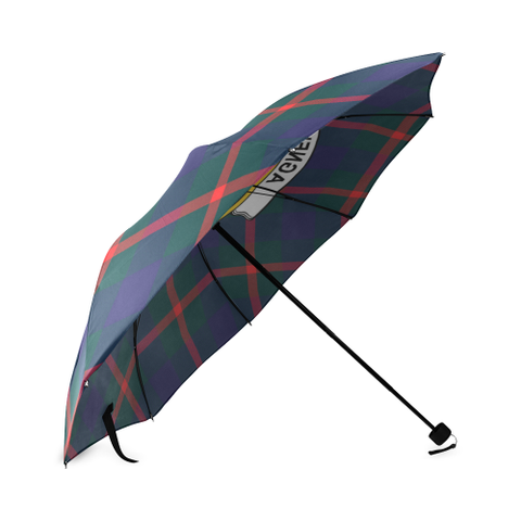 Image of Agnew Clan Badge Tartan Umbrella
