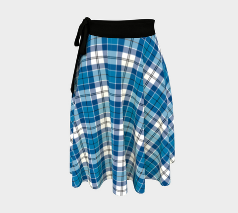 Image of Roberton Tartan Wrap Skirt