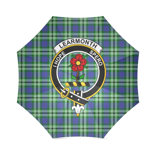 Learmonth Clan Badge Tartan Umbrella