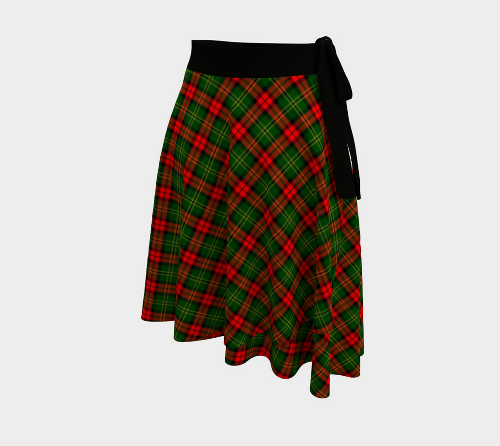 Blackstock Tartan Wrap Skirt