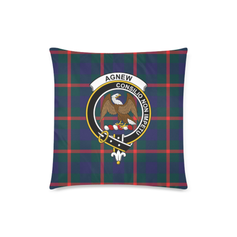Agnew Clan Badge Tartan Pillow Cover