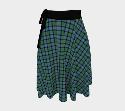 Image of Malcolm Ancient Tartan Wrap Skirt