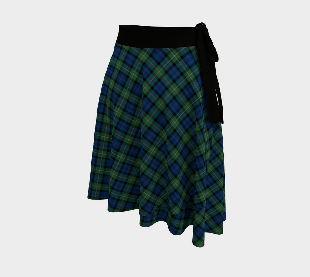 Forbes Ancient Tartan Wrap Skirt