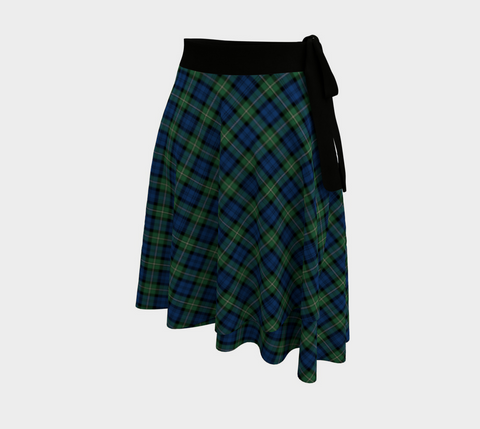Image of Forbes Ancient Tartan Wrap Skirt