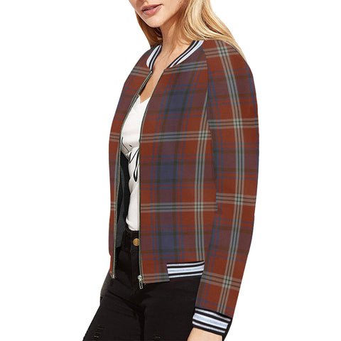 Ainslie Tartan All Over Print Bomber Jacket H01