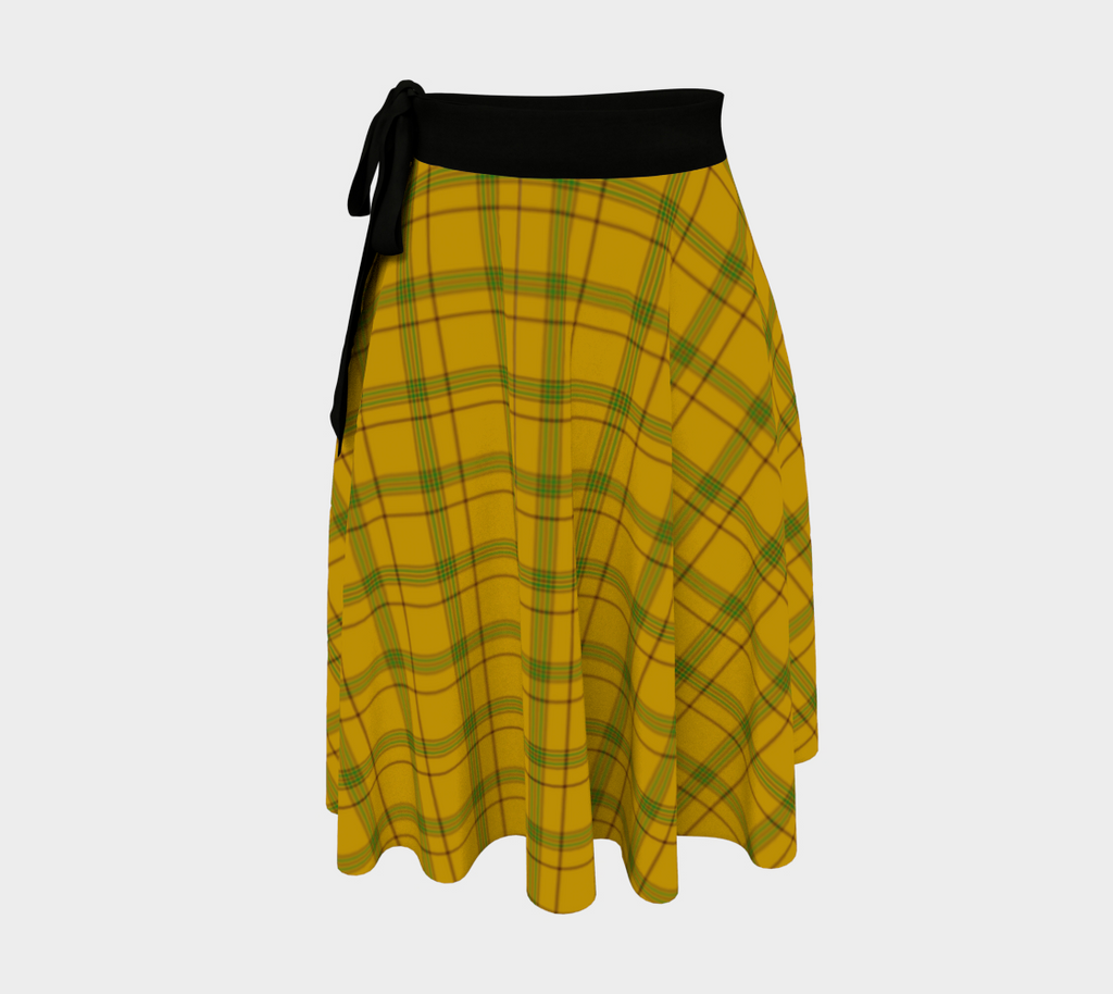Houston Tartan Wrap Skirt