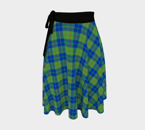 Image of Barclay Hunting Ancient Tartan Wrap Skirt