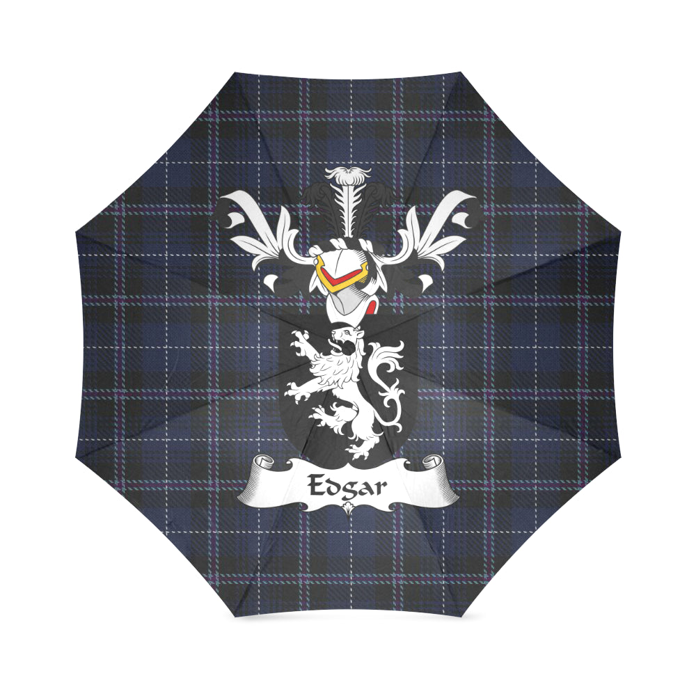 Edgar Surname Tartan Umbrella H01 Foldable Umbrella (Model U01)