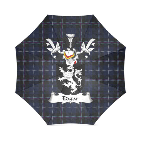 Image of Edgar Surname Tartan Umbrella H01 Foldable Umbrella (Model U01)