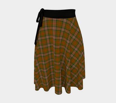 Image of Scott Brown Modern Tartan Wrap Skirt