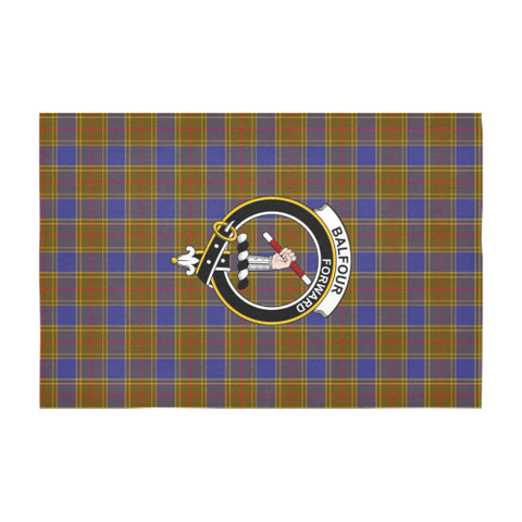 Balfour Clan Badge Tartan TableCloths