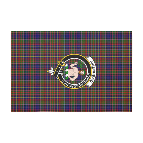 Aikenhead  Clan Badge Tartan TableCloths