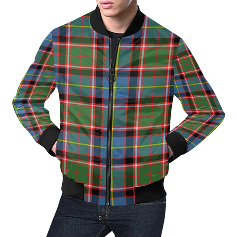 Aikenhead Tartan Bomber Jacket for Men H01