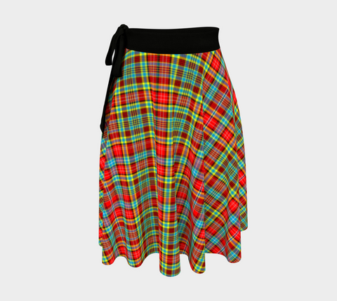 Image of Ogilvie Tartan Wrap Skirt