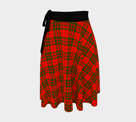 Image of Livingstone Modern Tartan Wrap Skirt