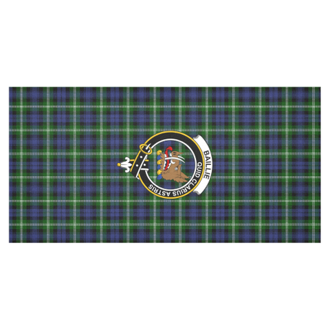 Image of Baillie Clan Badge Tartan TableCloths