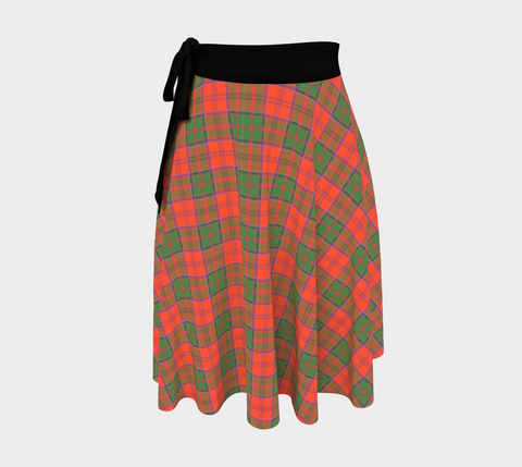Image of Grant Ancient Tartan Wrap Skirt