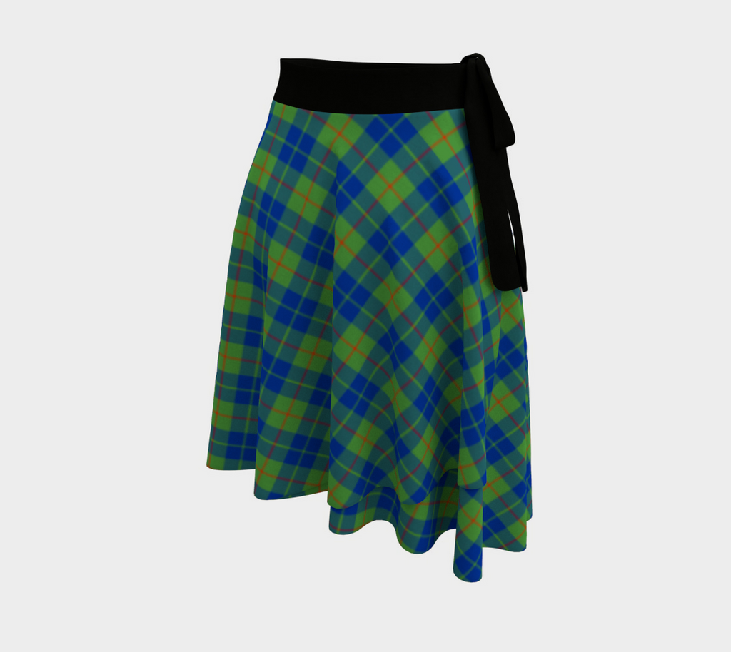 Barclay Hunting Ancient Tartan Wrap Skirt