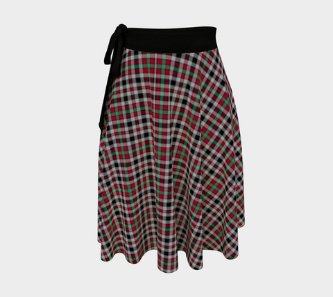 Image of Borthwick Ancient Tartan Wrap Skirt