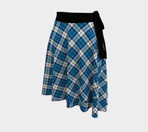 Image of Strathclyde District Tartan Wrap Skirt