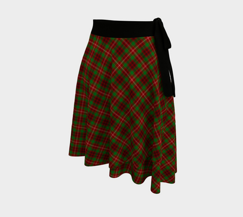 Image of Ainslie Tartan Wrap Skirt