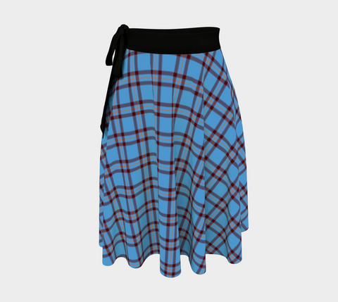 Image of Elliot Ancient Tartan Wrap Skirt