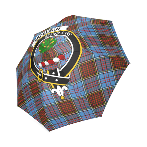 Anderson Clan Badge Tartan Umbrella