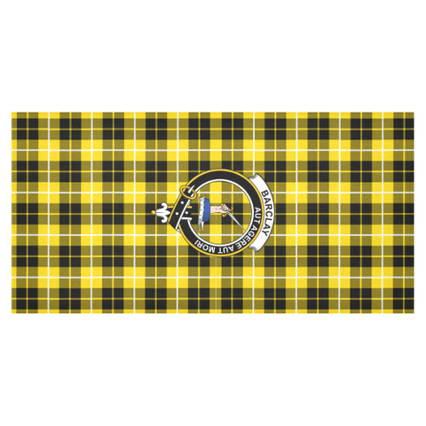 Barclay  Clan Badge Tartan TableCloths