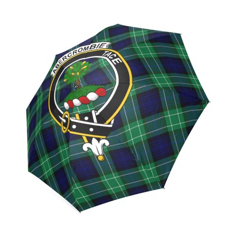 Image of Abercrombie Clan Badge Tartan Umbrella